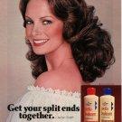 Vintage 1979 Jaclyn Smith Wella Balsam Shampoo AD