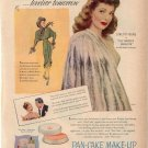 Vintage 1947 Loretta Young Max Factor Make up AD