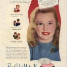 Vintage 1945 Max Factor Hollywood June Allyson AD
