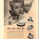 Vintage 1941 Lana Turner Max Factor Make up AD