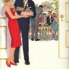 Vintage 1960 Pepsi Makes a Party birthday cake AD