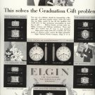 Vintage 1928 Elgin Watch Graduation Gift AD