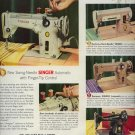 Vintage 1956 Swing Needle Slant Needle Singer Sewing Machine AD