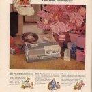 Vintage 1960 Wollensak Hi Fidelity Tape Recorder AD