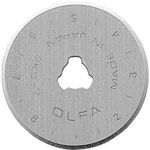 OLFA RB28-5, 28mm Replacement Blades for OLFA Rotary Cutters RTY-1/G &  RTY-1/DX~5 pack~Top Quality