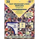 Easy Drunkard's Path Templates By Pepper Cory ~ Wrights / EZ Quilting Acrylic Templates, 3 pieces
