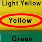 "Glossy Yellow, Adhesive Backed Vinyl Roll ~ 12"" x 10' ~ Sign Vinyl for Cricut + others"