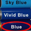 "Glossy Blue, Adhesive Backed Vinyl Roll ~ 12"" x 10' ~ Sign Vinyl for eCraft, Cricut + others"