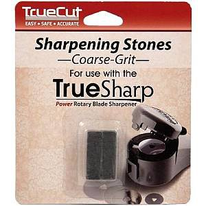 TrueSharp, Coarse Grit, Replacement Sharpening Stones by The Grace Company � 2 stones