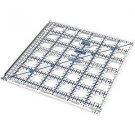 """6.5"""" x 6.5"""" TrueCut Ruler w/ Ruler Track & Cutter Guide - The Grace Company - 6 ½"""" x 6 ½"""""""