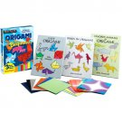 Origami for Beginners, Dover Fun Kit with 3 Starter Books for 55 Fun Projects and 96 Sheets of Paper