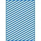 Modern Stripe, Teresa Collins, Embossing Folder, Universal Letter + A4 size ~ eBosser, Cut'n'Boss