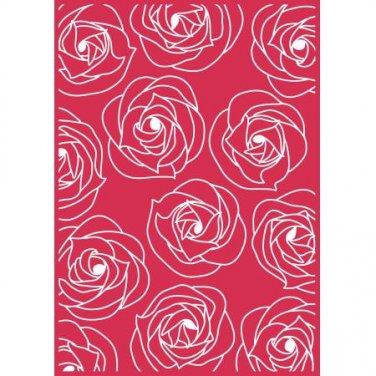 Bella Rose, Teresa Collins, Embossing Folder, Universal Letter + A4 size ~ eBosser, Cut'n'Boss