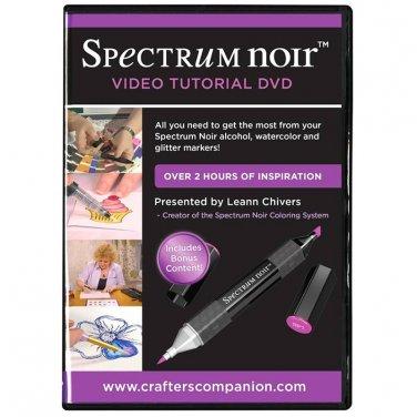 Spectrum Noir Video Tutorial DVD for their Sparkle Pens, Aqua Watercolor Markers + Alcohol Markers