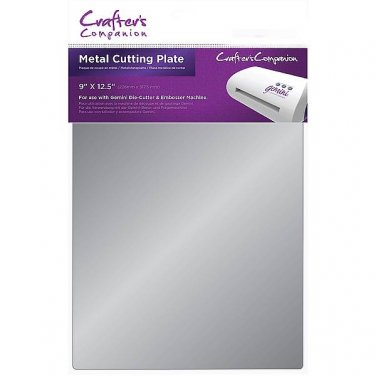 Gemini Metal Cutting Plate by Crafter's Companion for Gemini Die Cutting +Embossing Machine-Free S&H