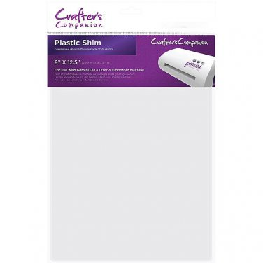 Gemini Plastic Shim by Crafter's Companion for Gemini Die Cutting + Embossing Machine, Free Shipping