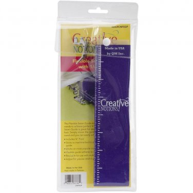 "Creative Notions Flexible Seam Guide for your Sewing Machine, achieves perfect 1/4"" seams with ease!"