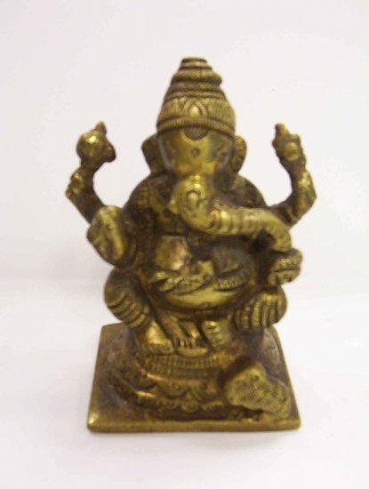 Brass Ganesh, Ganesha
