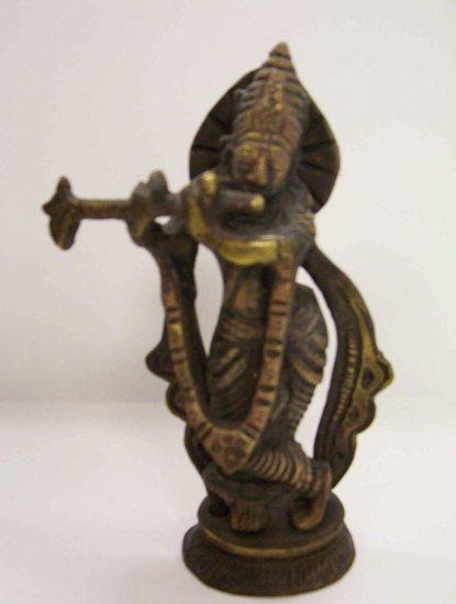 Brass Krishna