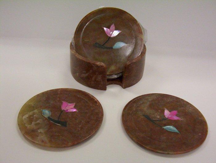 Set of 6 Stone Coasters.