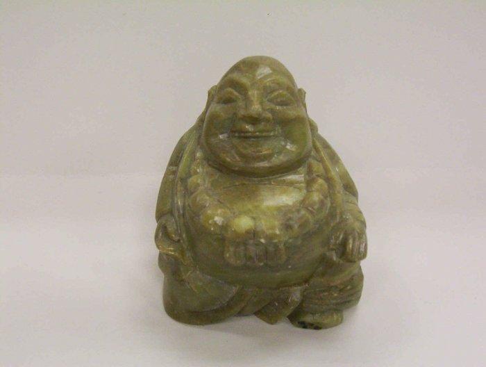 Soap Stone Lucky Buddha
