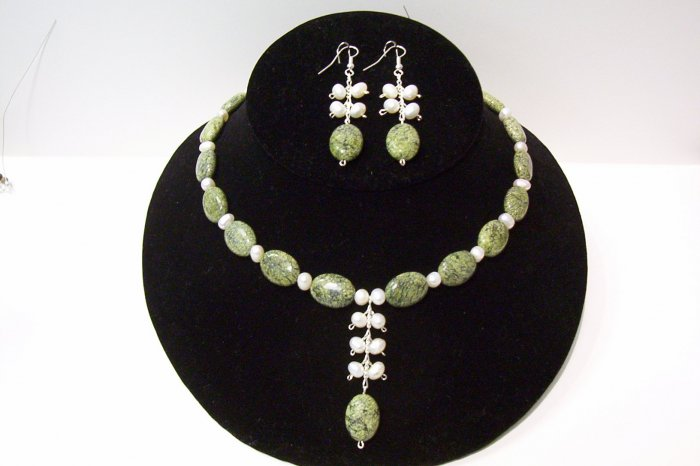 Gemstone Jewelry Set - 1006