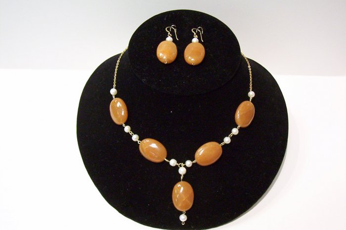 Gemstone Jewelry Set - 1011