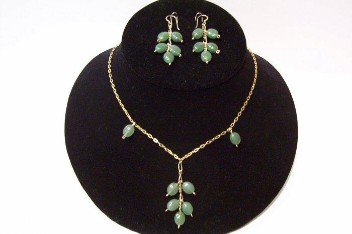 Gemstone Jewelry Set - 1013