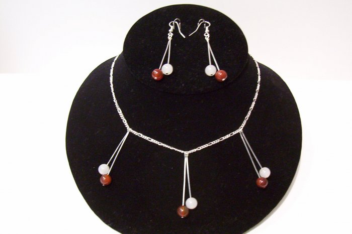 Gemstone Jewelry Set - 1014