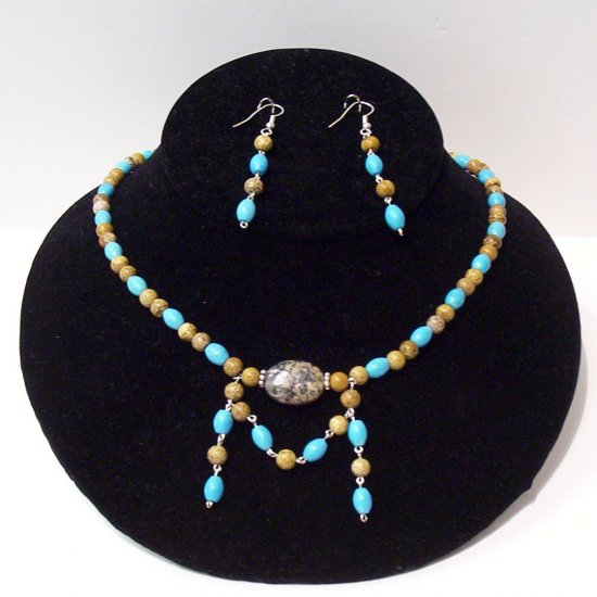 Gemstone Jewelry Set - 1021