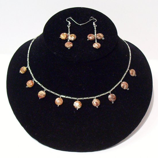 Gemstone Jewelry Set - 1026