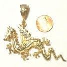 Gold Filled Dragon Pendant