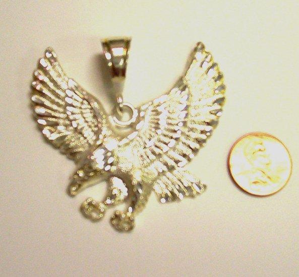 Sterling Silver Mens Eagle