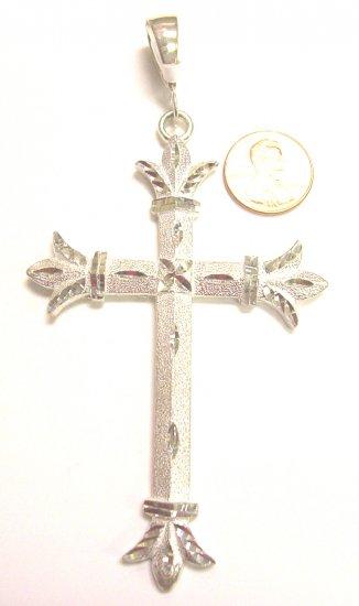 Sterling Silver Mens Cross