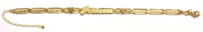 Gold Filled Women's Bracelet - Princess