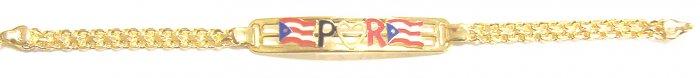 Gold Filled Women's Bracelet - Puerto Rico