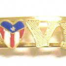 Gold Filled Women's Bracelet- Puerto Rico Love