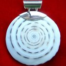 Shell Sterling Silver Pendant