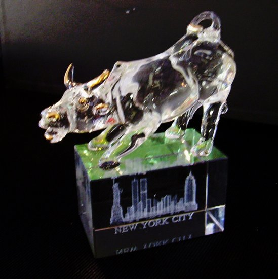 Crystal- New York City Bull