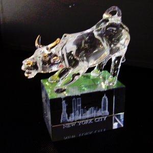 Crystal- New York City Bull