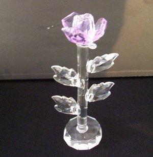 Crystal- Single Flower (lights up)