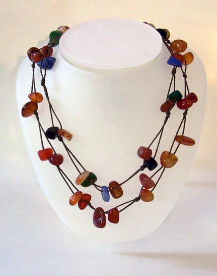 Stone High End Fashion Necklace
