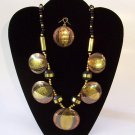 Brass Necklace Set