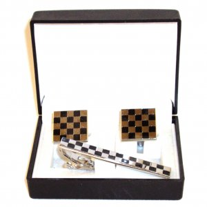 Cufflinks - Checkers