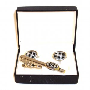 Cufflinks - Oval Checkers