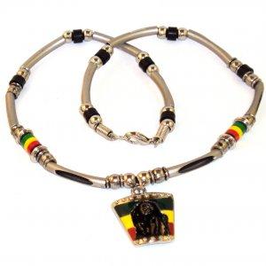 Men's Necklace - Bob Marley