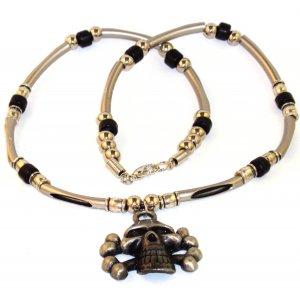 Men's Necklace - Skull