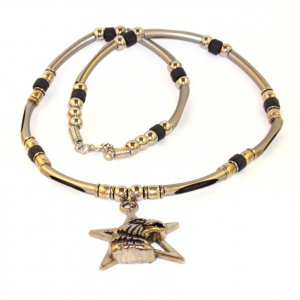 Men's Necklace - Star Eagle