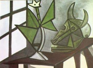 Nature Morte, By Pablo Picasso Verve Lithograph 1942 - Framed Artwork
