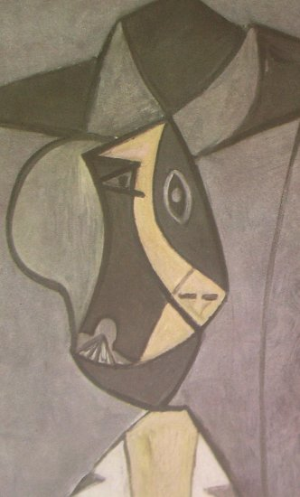 Femme Au Chapeau 1942 Lithograph By Pablo Picasso Published By Verve - Framed Artwork